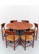 Peter Hvidt & Orla Mølgaard Nielsen Teak Chair No.316 für Søborg I Set of Six