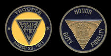 Challenge coin - New Jersey State Police Trooper