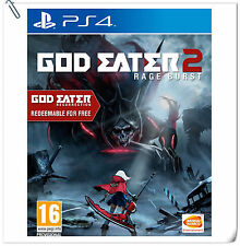 PS4 God Eater 2 Rage Burst + Resurrection SONY Action Games BANDAI NAMCO
