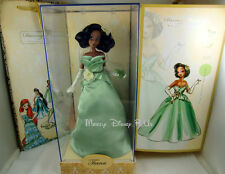 NEW Tiana Designer Doll Disney Store Princess and the Frog  LE 4000 W/ Bag