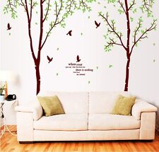 Large Bird Tree Wall Removable Living Room Wall Decor Home Decal Sticker Art