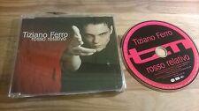 CD POP TIZIANO FERRO-ROSSO RELATIVO (1) canzone PROMO EMI SC