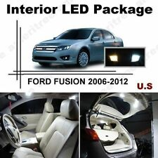 White LED Lights Interior Package Kit for FORD FUSION 2006-2012 ( 10 Pcs )