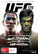 UFC #175 - Weidman Vs Machida (DVD, 2014, 2-Disc Set) New Sealed