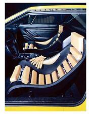 1970 DeTomaso Pantera Ghia Concept Interior Factory Photo uc7813