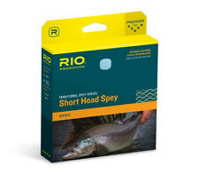 Rio SHORT HEAD Spey Fly Line 10/11F ~ NEW in Box Blue/Straw ~ CLOSEOUT