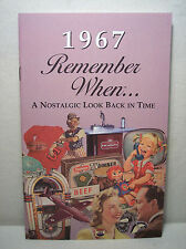 50th Birthday / Anniversary - 1967 Remember When Nostalgic Book Card  - NEW