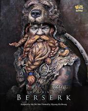 Nuts Planet, Berserk,  Viking Berserker1/10th scale unpainted resin bust kit NIB