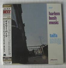 HARLEM BUSH MUSIC GARY BARTZ NTU TROOP-Taifa JAPAN MINI LP CD OBI NEU! UCCO-9464