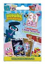 New Moshi Monster 3 in 1 Species Card Game