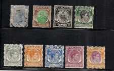 Singapore  Malaya Hong Kong Johore stamps stamp mostly Mint from QV to $5 value