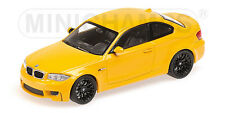 Minichamps BMW 1er / 1 Series M Coupe, gelb yellow 1:43