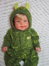 """Reborn baby for your baby, 18"""" with full limbs, weighted to 3 lbs, 1 available"""