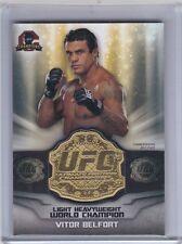 2014 TOPPS CHAMPIONS UFC VITOR BELFORT COMMEMORATIVE BELT PLATE