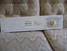 GE Dryer White Console with Knob Timer, Electronic Control, Overlay, Timer.....