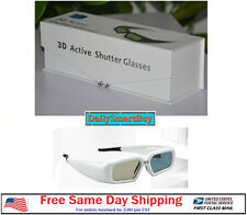 Active Shutter 3D Glasses Acer/BenQ/Sony/Optoma/Sharp/Dell DLP Link Projector