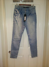 WOMEN'S ZOO YORK DENIM JEANS BRAND NEW WITH TAGS SIZE 6 to 8 RRP $119.95