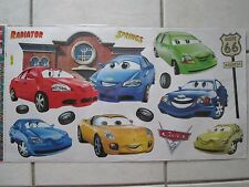 CARS 2 RADIATOR SPRINGS Bedroom/Nursery Decorative Wall Stickers