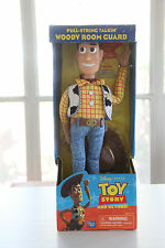 Toy Story Pull-String Talkin' Woody Room Guard NIB