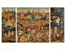 Garden of Earthly Delights by Hieronymus Bosch 60x80cm Art Print