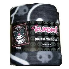Sanrio Kuromi Soft Plush Throw Blanket