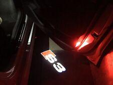 Audi S3 8V LED PUDDLE/shadow laser projector courtesy door lights USA SELLER****