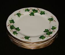 6 x Colclough Ivy Leaf Side/Tea Plates 6.25""