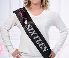 Sweet Sixteen Sash Sweet 16 Party Birthday Party Sash