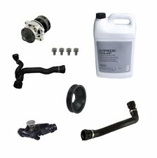 NEW BMW E60 525i 530i 04-05 Coolant Kit With Water Pump Thermostat and Hoses OEM