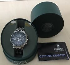 Citizen Eco-drive Men's Watch AV0031-59E All Boxes, Papers, Extra Links.