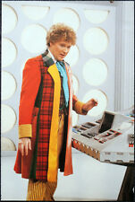 DOCTOR WHO POSTER . COLIN BAKER & TARDIS INTERIOR - THE TWIN DILEMMA