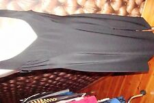 ROBE CHASUBLE MUGLER NOIRE SEXY T 44 46 CHIC INDISPENSABLE