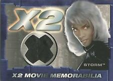 "X-MEN United X2-STITCH VARIANTE ""STORM"" cimeli Costume CARD"