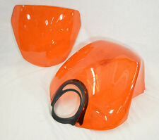 Genuine Buell Air Box Cover & Windscreen in Valencia Orange, XB12X Models (Kit)