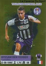 480 WISSAM BEN YEDDER # TOP JOUEUR TOULOUSE.FC TFC STICKER PANINI FOOT 2015