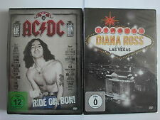 AC/DC Ride on Bon & Diana Ross live in Las Vegas - Sammlung, Collection, Paket