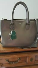 Ralph Lauren Winford SP Double zipper Womens Satchal  Sholder Hanbag