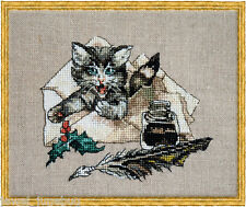 10% Off Nimue Fee Main Counted X-stitch Chart - Chat Va?