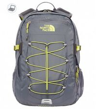 ZAINO THE NORTH FACE BOREALIS VANADIS GREY VENOM YELLOW BACKPACK TREKKING NEW
