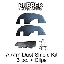 1992 1993 1994 1995 Chevy GMC Suburban Tahoe A Arm Dust Shields 4WD 3/4 & 1 Ton