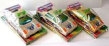 3 TOY POLICE CARS  NEW IN PACKAGE   ***FREE U.S. SHIPPING***