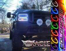 2005-07 Ford F250 & F350 Super Duty Oracle ColorSHIFT SMD LED Halo Headlight Kit