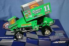 STEVE KINSER QUAKER STATE 1:18 ACTION XTREME SPRINT CAR WORLD OF OUTLAWS DIECAST