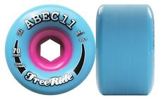 ABEC11 Stoneground Freeride 70mm 84a azul - rosa Longboard Ruedas