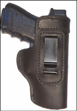 Desert Eagle 50,55, 357 Leather Gun Holster LT RH IWB Black