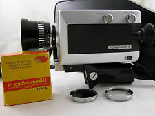 Agfa Movexoom S + case + film + filters