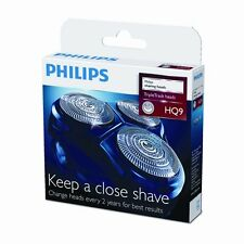 3x PHILIPS HQ9 GENUINE SPEED XL SHAVER HEADS / FOILS / BLADES ~ Philishave