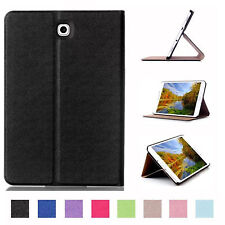 Custodia per Samsung Galaxy Tab 8.0 S2 SM-T713 SM-T719 Book Cover Case Nero