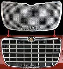 04-10 Chrysler 300 CHROME Snap On Grille Overlay Front Mesh Grill Cover Insert