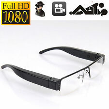 HD 1080P Video Audio Spy Camera Glasses Eyewear DVR Hidden Cam Camcorder V13 New